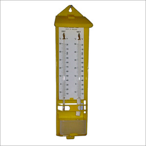 Dry & Wet/Sling bulb thermometer